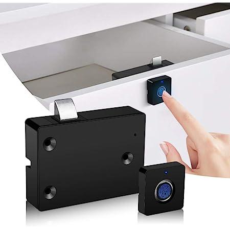 Biometric Fingerprint Semiconductor Lock USB For Office Wardrobe Drawer Cabinet