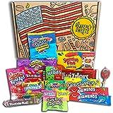 Heavenly Sweets American Caja de bocadillos y dulces 100% vegetariana - Juego de marcas clásicas de EE. UU., Deliciosos...