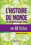 L'histoire du monde en 60 fiches - De l'antiquité au XXIe siècle