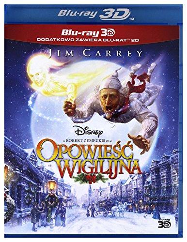 Disney's A Christmas Carol [Blu-Ray]+[Blu-Ray 3D] [Region Free] (IMPORT) (No hay versión española)