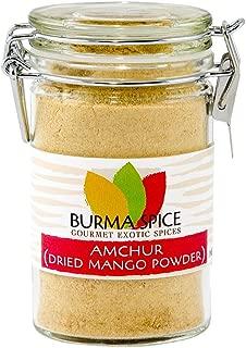 Amchur : Dried Unripe Green Mango Powder : Natural Sour Fruity Spice, Ground : Kosher (2.5oz.)