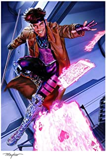 Sideshow Collectibles Marvel Art Print Gambit 46 x 61 cm - unframed Posters