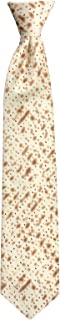 Jacob Alexander Boys' Matza Cracker Passover Clip-On Neck Tie