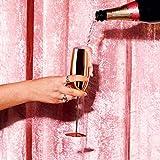 Beautify Sektgläser Champagnerflöten/Gläser Kupfer 2 Stück - Bruchsicherer Edelstahl Sektkelche - 3