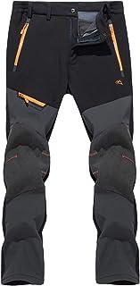 TACVASEN Men's Snow Hiking Pants Waterproof Ski Snowboard...