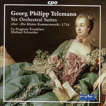 Telemann: 6 Orchestral Suites