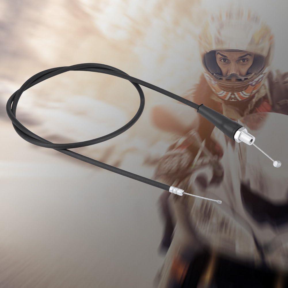 M8 Reparaci/ón de cable de acelerador de emergencia de motocicleta universal 110cm L/ínea de cable de aceite de acelerador de cabeza recta para Pit Dirt Motor Trail Bike Motocross
