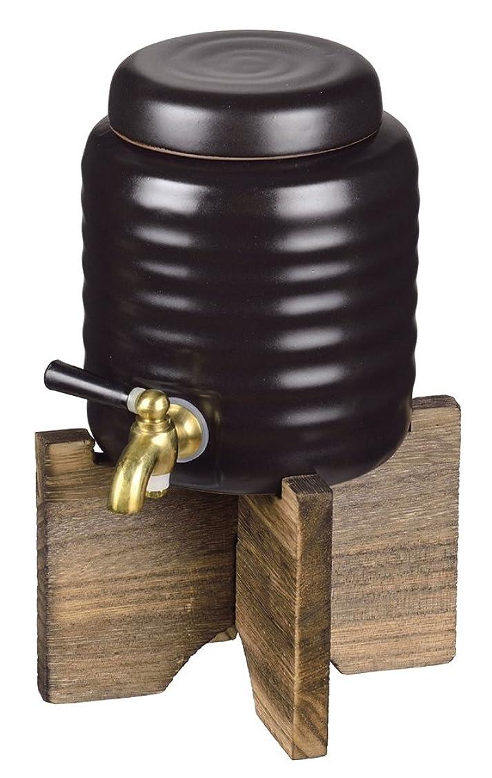 領域競争保護するパール金属 和楽 焼酎サーバー(小)1.0L L-795