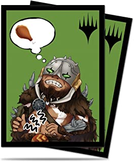 Ultra Pro Magic: The Gathering Chibi Collection Garruk I'm Starving Deck Protector Sleeves (100 Count)