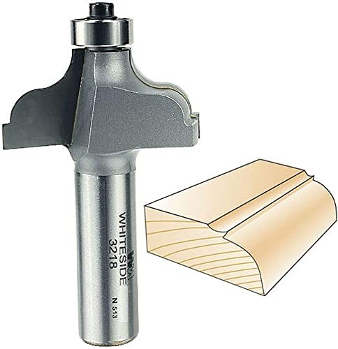 wholesale Whiteside discount Router Bits 3218 Ogee Fillet Bit with 1/4-Inch Radius, 1-5/8-Inch Large Diameter and 3/4-Inch Cutting sale Length online sale