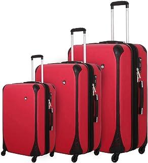 مجموعة حقيبة الأمتعة الدوارة ذات الجوانب الصلبة من ميا تورو كاريرا