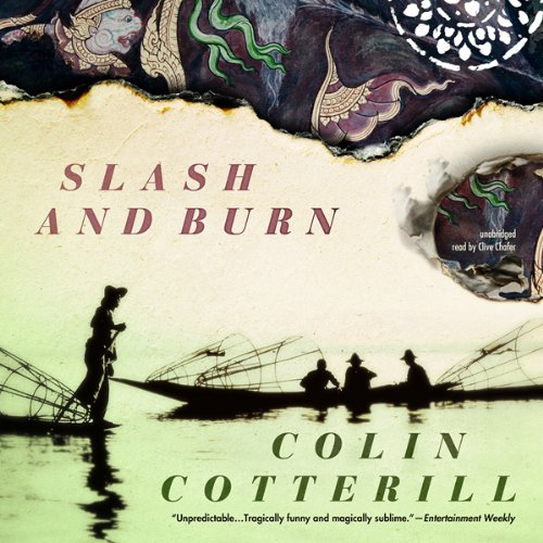 Slash and Burn audiobook cover art