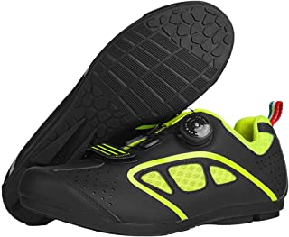 OneChange Road Cycling Shoes, Mens Lightweight Breathable Anti-Skid MTB Bike Shoes Flat without Cleats for Sports Mountain...