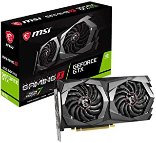 بطاقة رسومات MSI Gaming GeForce GTX 1650 128 بت HDMI / DP 4GB GDRR6 HDCP تدعم DirectX 12 Dual Fan VR Ready OC (GTX 1650 D6...