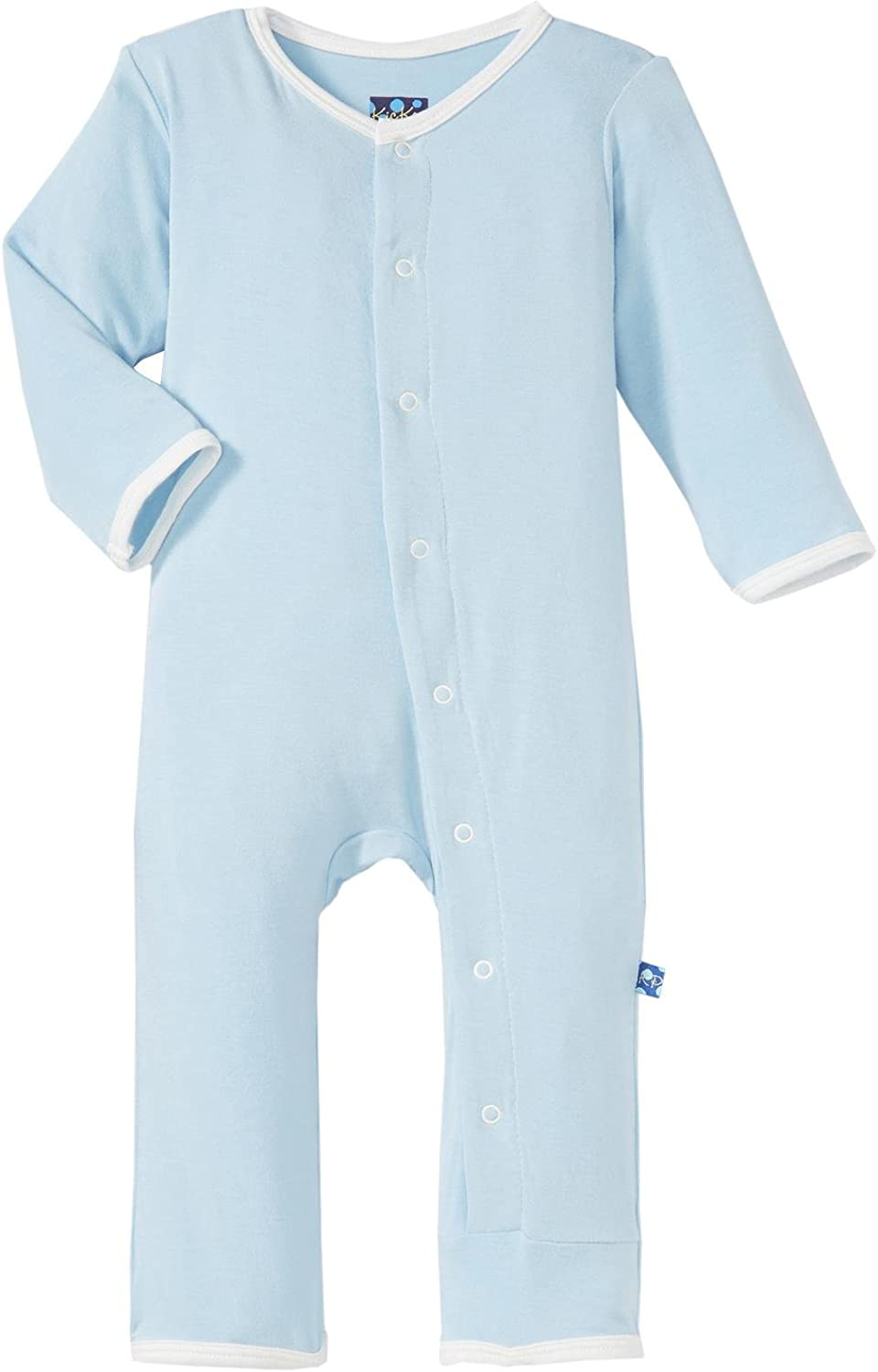 KicKee Pants Baby Boys' Holiday Fitted Applique Coverall Prd