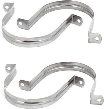 Upmann Grille de protection m/ét/éo Profil/é en aluminium anodis/é 700/x 600/mm 1/pi/èce 54929