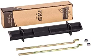 10L0L Golf Cart Battery Hold Down with rods kit for EZGO 1994-up 70045G01, 01101-G01