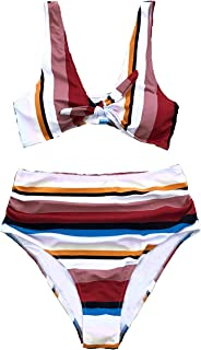 Women's Lost in The Dream High-Waisted Bikini Set Beach Swimwear Bathing Suit
