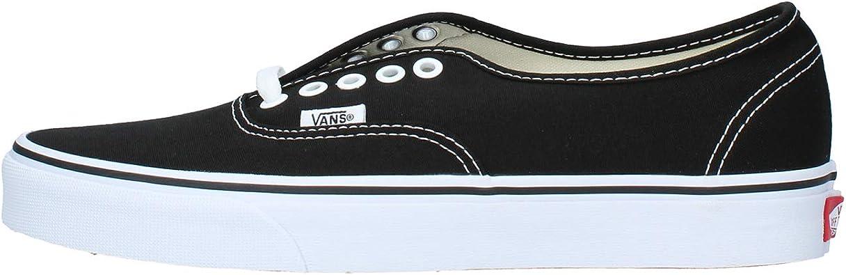Amazon.com   Vans - U Authentic Shoes in Black, Size: 8.5 D(M) US ...