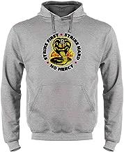 Cobra Kai Motto Circle No Mercy Karate Kid Sweatshirt Hoodies for Men