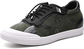 CHAMARIPA Scarpe da Basket con Rialzo Uomo Pelle Sneaker Fino a 6 cm H81C89K012D
