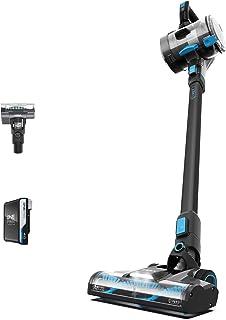 Vax 1-1-142312 ONEPWR Blade 4 Pet Cordless Vacuum Cleaner with Motorised Pet Tool – CLSV-B4KP, Graphite/Cyan Blue