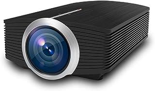 أنظمة المسرح المنزلي JHMJHM YG510 1200 LUX 800*480 LED بروجكتور HD المسرح المنزلي، يدعم HDMI & VGA & AV & TF & USB جهاز العرض