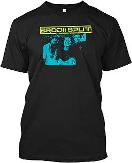 Brodii Split Band T-shirt Customized Handmade T-shirt For Unisex