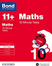Bond 11+: Maths: 10 Minute Tests: 10-11+ years