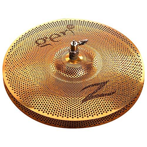 """Zildjian Gen16 Buffed Bronze 13"""" Hi Hat Cymbal Pair"""