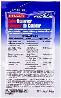 Loreal Effasol Color Remover 7/8oz Packet