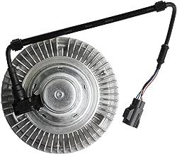 Electronic Electric Engine Cooling Fan Clutch Radiator Fan Clutch for 2003 2004 Dodge Ram2500 Ram3500 Pickup L6 5.9L DIESEL Turbocharged Replace# 3281