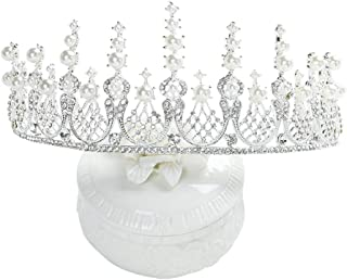 RKY Corona for Bambini, Ragazze Tiara Crown Principessa Girl Accessori Capelli Passerella Strass Principessa Fascia for Ca...