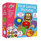 Galt Toys, First Lacing Pictures, Threading Toy, Ages 3 Years Plus
