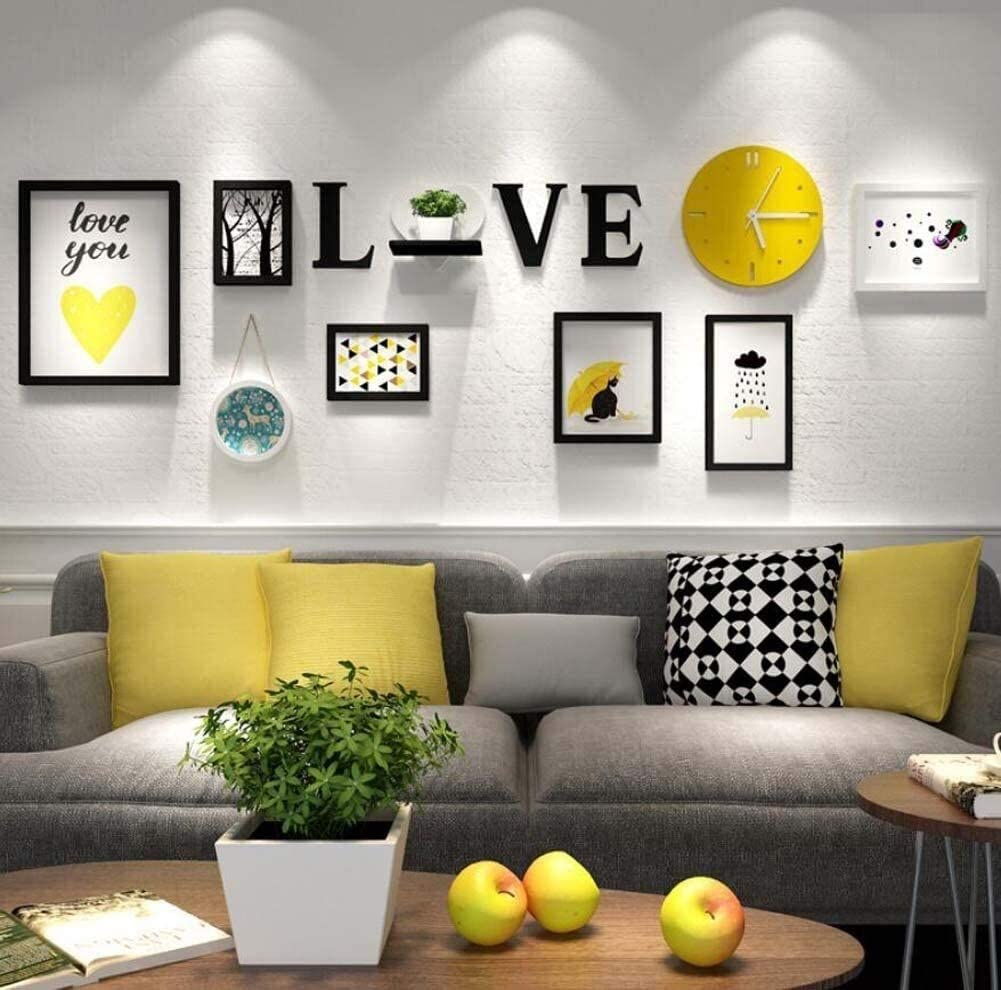 COLOM TV Background Wall Decorative Painting Hanging Max 68% Inventory cleanup selling sale OFF Combination