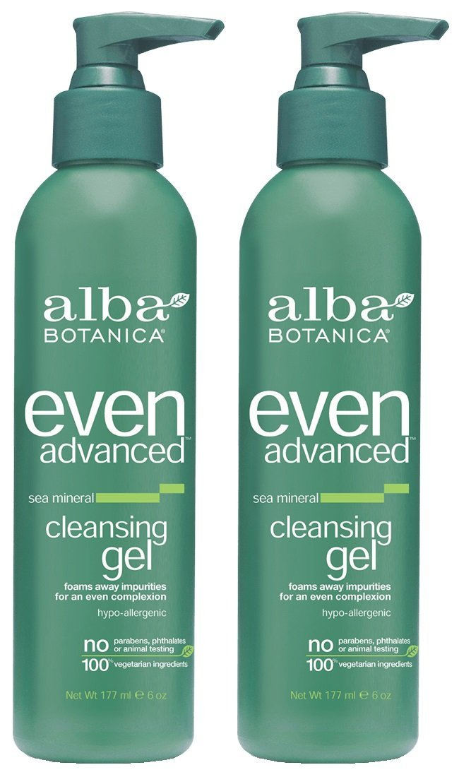 High quality Alba Botanica Even Advanced Sea Indianapolis Mall Ounce Gel Cleansing 6 Mineral