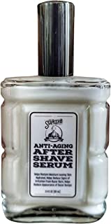 Scapicchio Anti-Aging After Shave Serum - Soothes and Moisturizes Skin After Shaving for Razor Bumps And Ingrown Hairs  Hydrates Skin & Fights Signs of Aging - 3.4 Oz