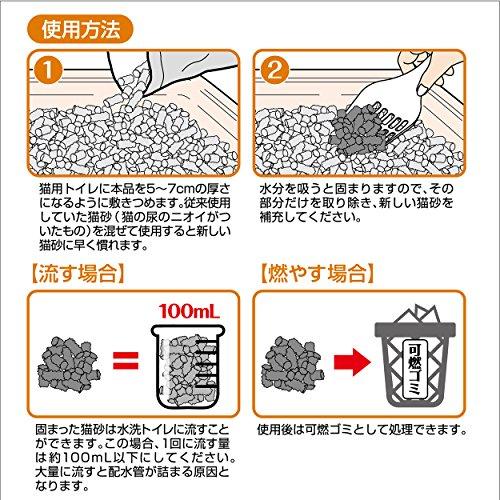 ペティオ(Petio)流せる固まる木の猫砂12L