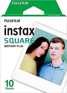 Fujifilm Instax Square - Pack de 10 fotografías color blanco