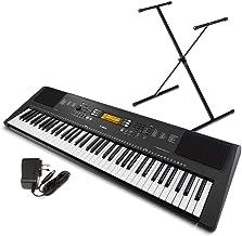Yamaha PSR-EW300 SA 76-Key Portable Keyboard Bundle with Sta