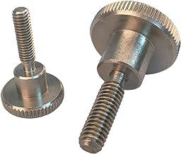 5 stuks gekartelde schroeven M4 X 10 hoge vorm DIN 464 roestvrij staal A1