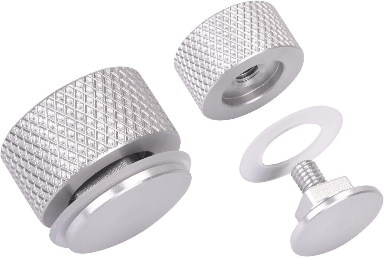 Silver Newace Welding Helmet Pipeliner Headgear Replacement Parts Accessories for Screws Flip Hood Fasteners Aluminum