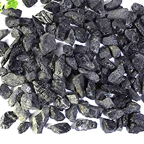 [New Wave] ブラックトルマリン 原石 長径 約1cm~3cm 1kg 産地 ブラジル black tourmaline 電気石 ショール 天然石 鉱物 A01S-6