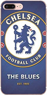 Chelsea Football iPhone case Soft TPU Personalized Pattern 3D Chelseas Fc Logo for iPhone X XS Max XR 7 8 Plus (7, iPhone XR)