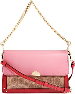 Coach Dreamer Ladies Small Two Tone Leather Crossbody Bag 76134GDP2P