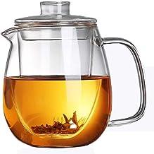 Kubek odporny na ciepło szkło wysoka temperatura zestaw do herbaty dom filtr do pieczenia herbaty odporny na wybuch odporn...