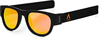 341adeb826 Gafas de Sol polarizadas Efecto Espejo, Plegables y enrollables UV400.  Bolsa Microfibra