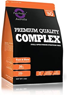 Pure Product Australia WPI/WPC/Casein Complex Protein Blend Powder, Unflavoured 5 kilograms
