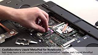 Coollaboratory Liquid Metal Pad - 1xCPU - Accesorio de refrigeración Plata