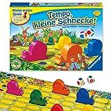 Ravensburger Kinderspiel Tempo kleine Schnecke, Das spannende...